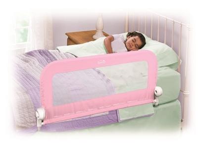Summer Barierka Ochronna Do łóżka Różowa