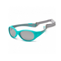 KOOLSUN Okulary FLEX Agua Grey 0-3 lat