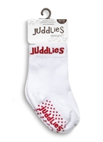 Juddlies Skarpetki White/Red 0-12 m