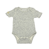Juddlies Body Light Grey Fleck 6-12 m
