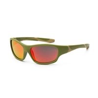 KOOLSUN Okulary SPORT Army Green 6-12 lat
