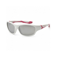 KOOLSUN Okulary SPORT White Cabaret 3-8
