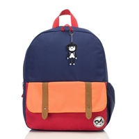 Zip & Zoe Plecak Junior Navy Color Block