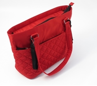 Summer Torba Do Wózka Quilted Tote Red