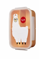 3 Sprouts Lunchbox Bento Lama Peach