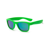 KOOLSUN Okulary WAVE Neon Green 3-10 lat