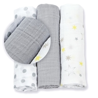 Lulujo Mini Pieluszki Calming Grey