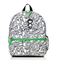 Zip & Zoe Plecak Junior Dino Black White