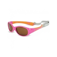 KOOLSUN Okulary FLEX Pink Orange 3-6 lat